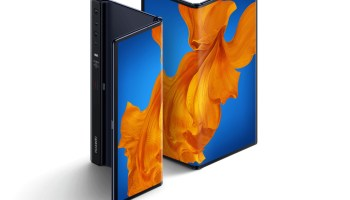 Huawei Mate XS foldable smartphone.