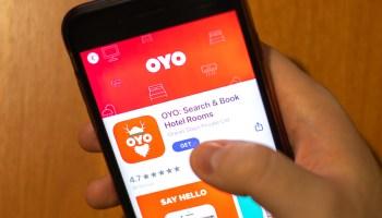 Oyo SoftBank India online travel hotel booking