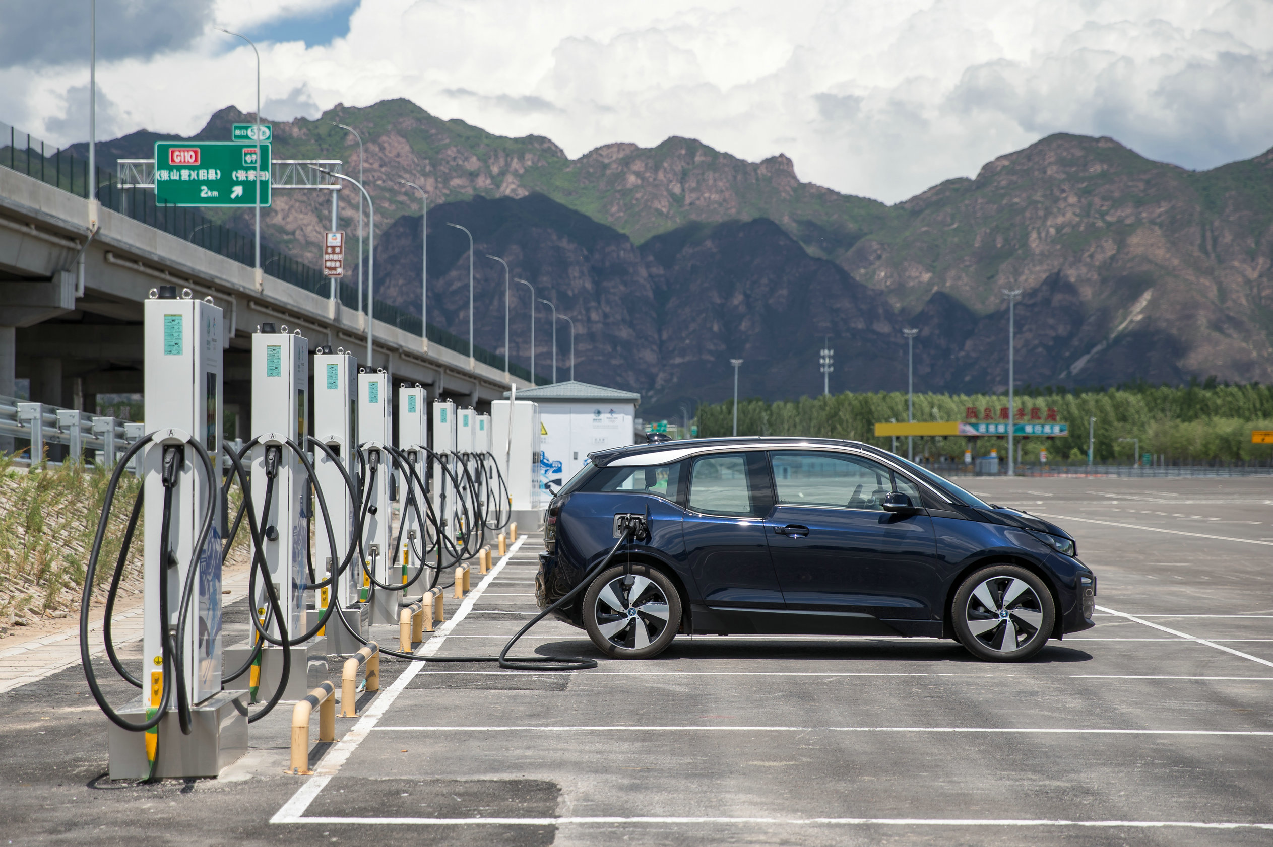 Image of article 'BMW and China's State Grid partner on EV charging network expansion'