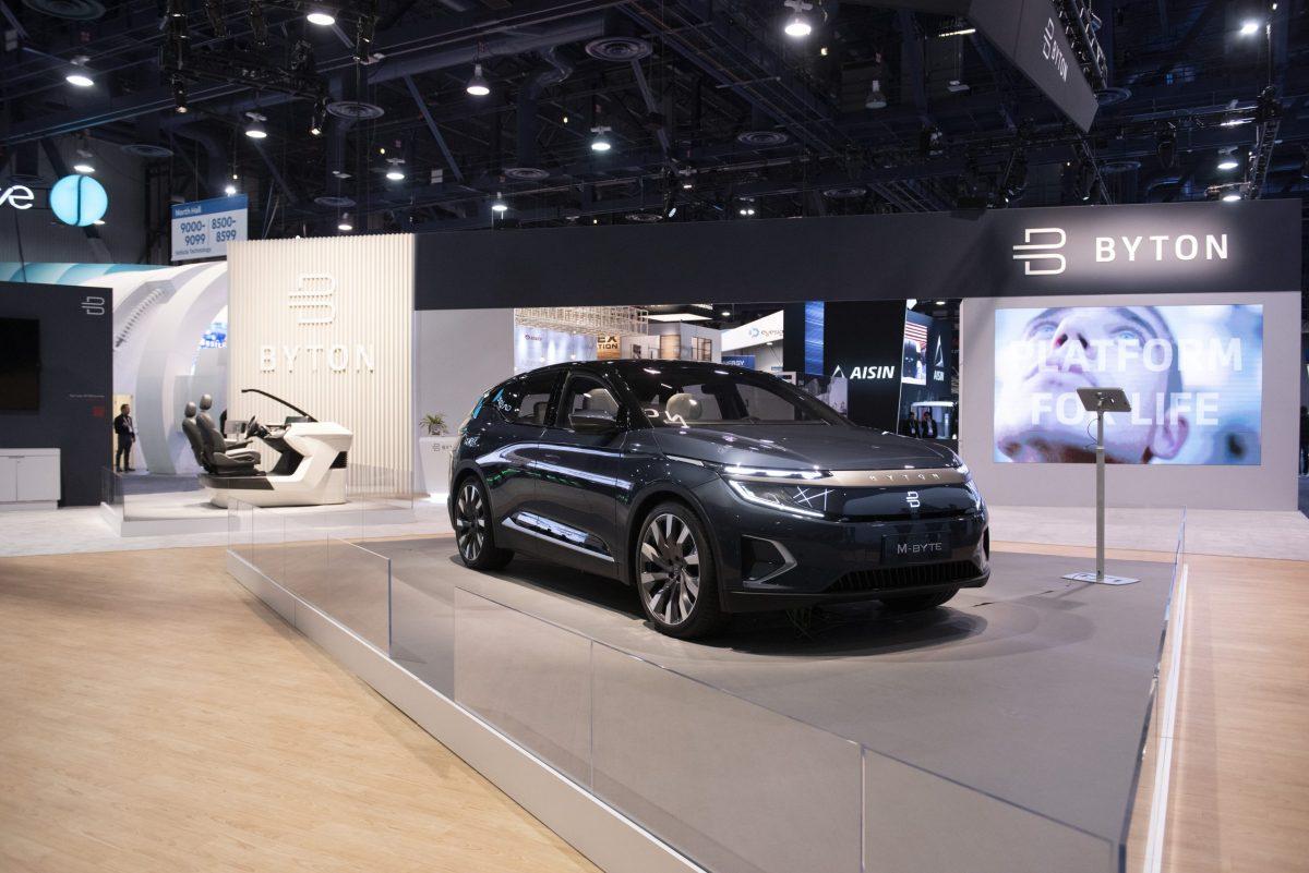 byton, electric vehicle
