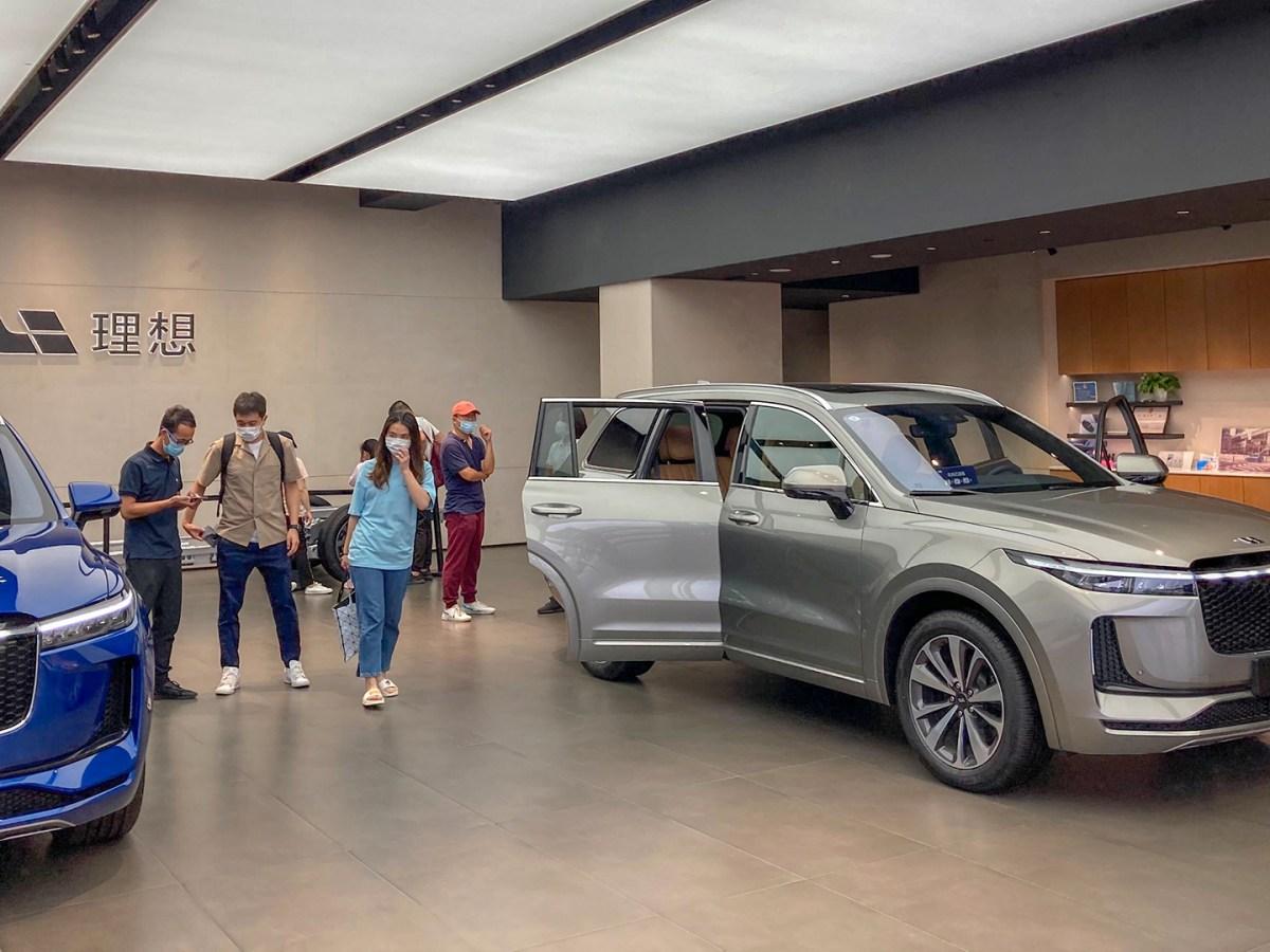 electric vehicles new energy vehicles li auto nio xpeng tesla china meituan EVs