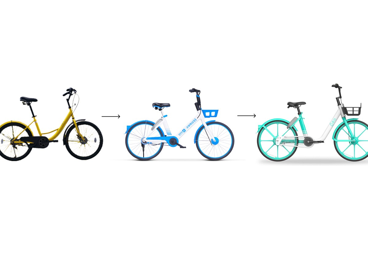 bike rental ofo hellobike didi