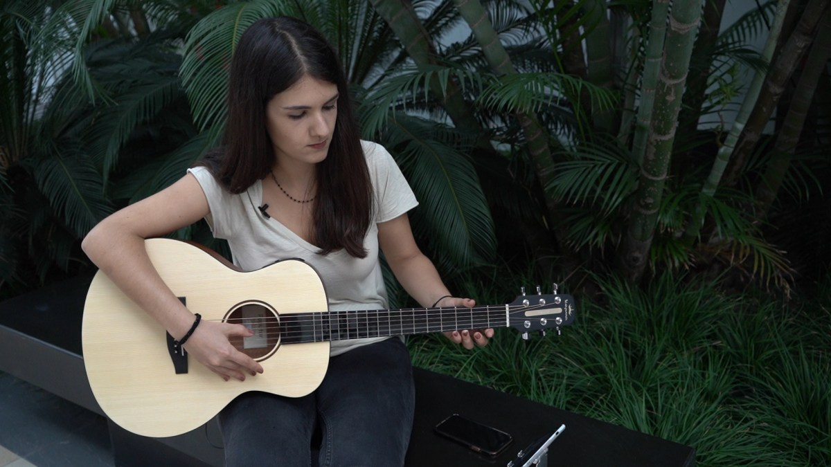 Poputar smart guitar