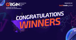ORIGIN Innovation Awards Winners 2020