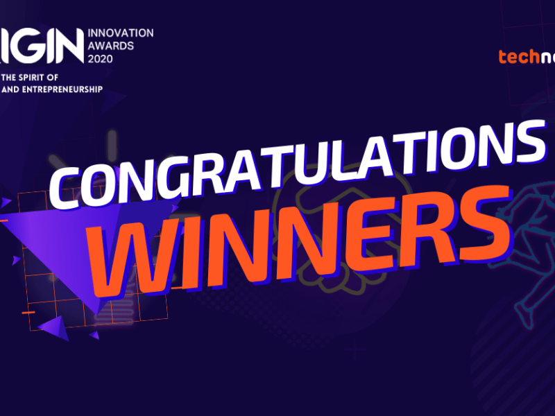 ORIGIN Innovation Awards Winners 2020