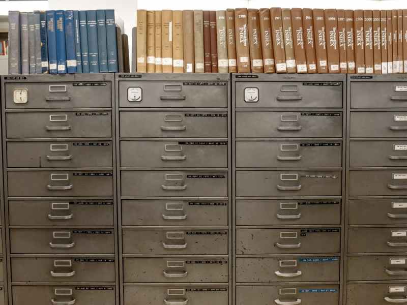 social credit digital filing library records