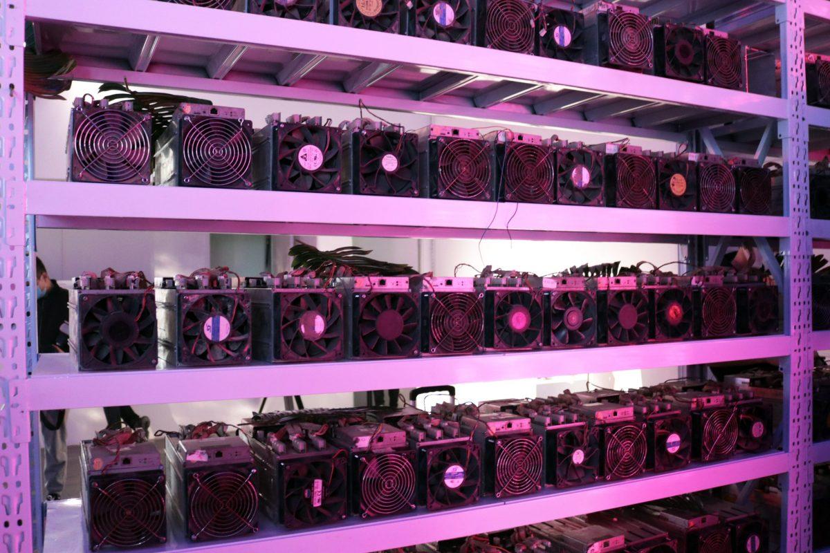 crypto mining Ebang NFT UCCA blockchain crypto Beijing art cryptoart