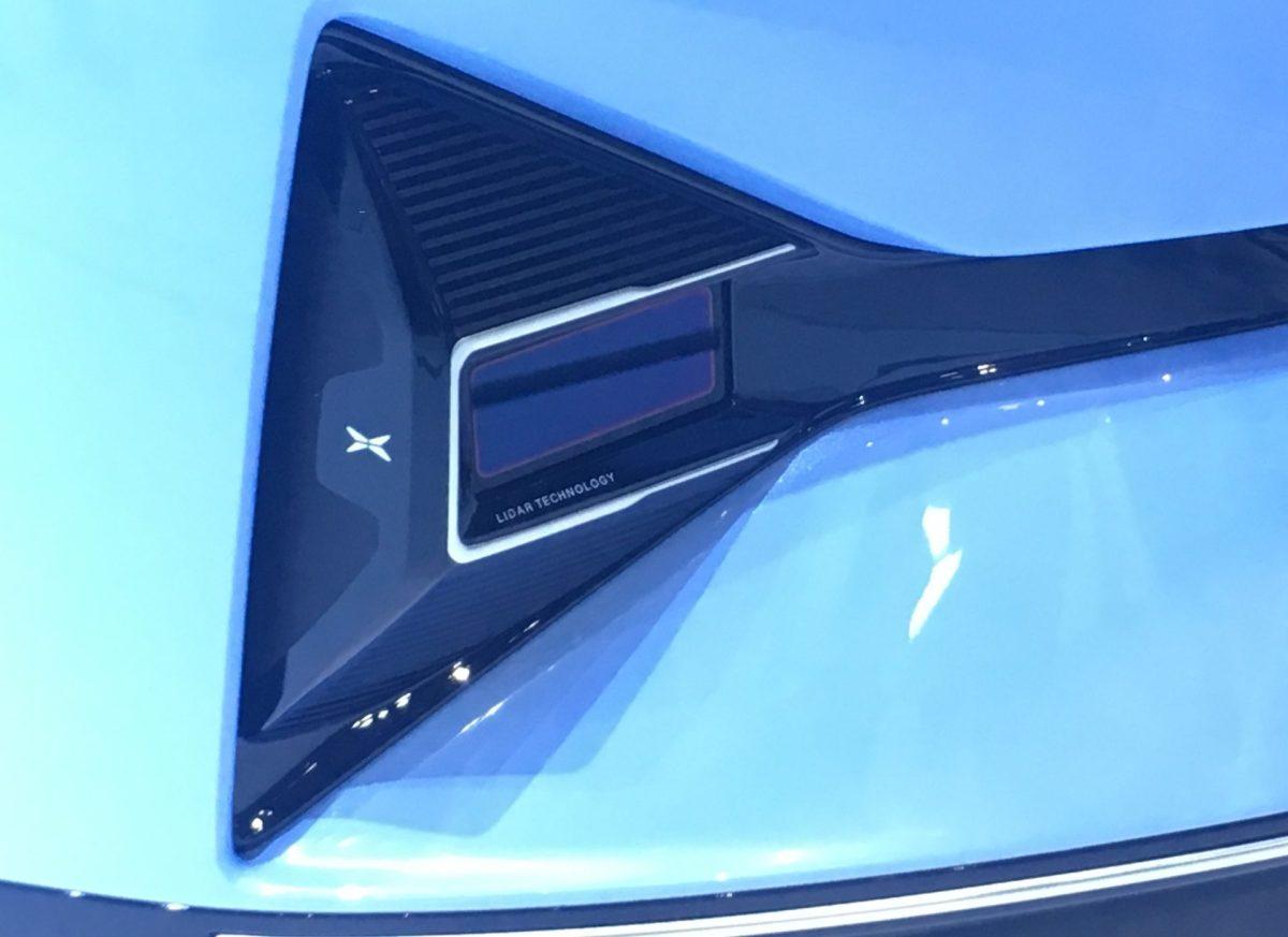 self driving cars autonomous driving lidar xpeng electric vehicles
