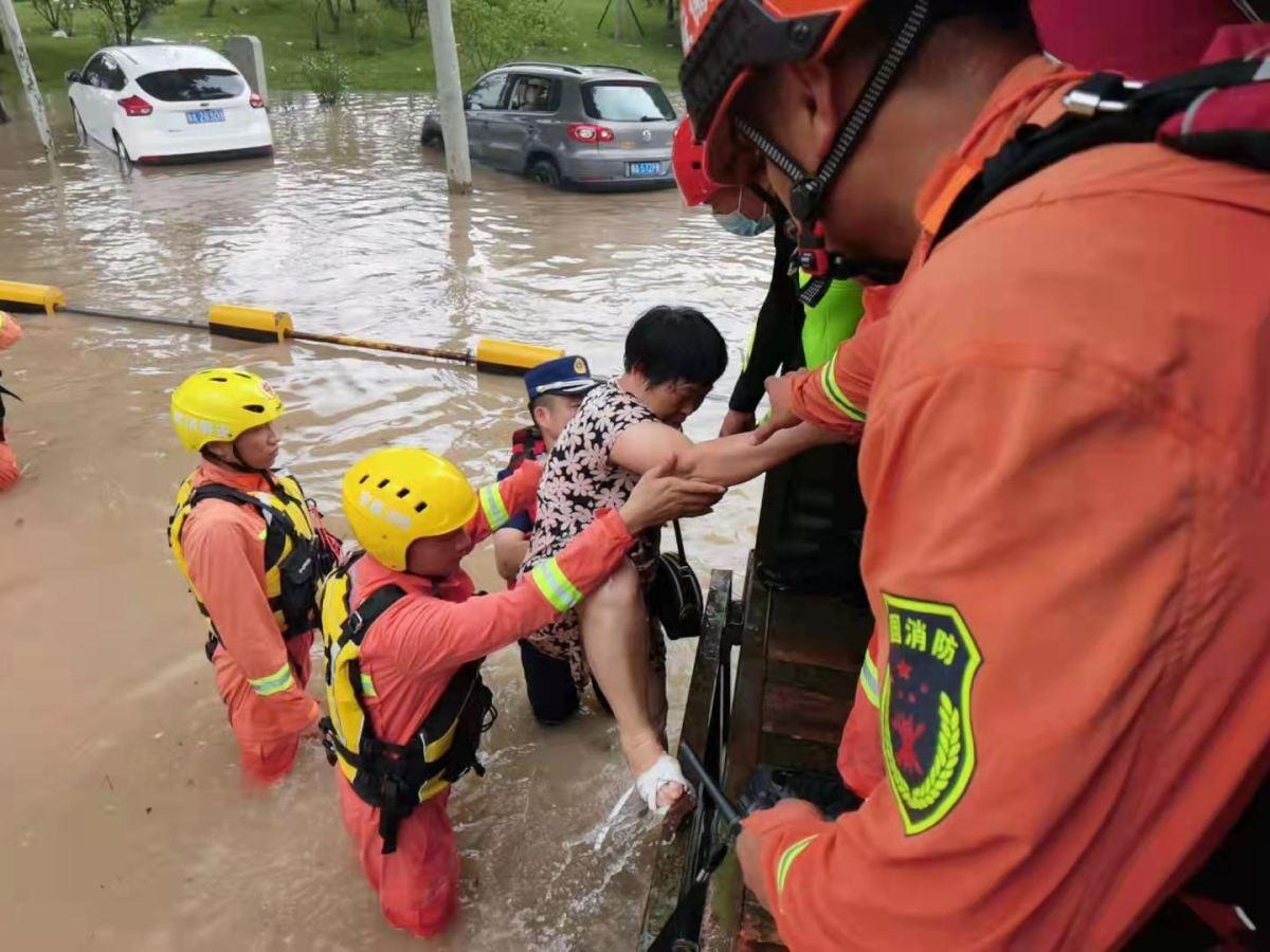 Henan flood, July, 2021