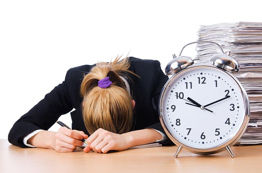 Desconto hiperbólico e a falta de gerenciamento de tempo