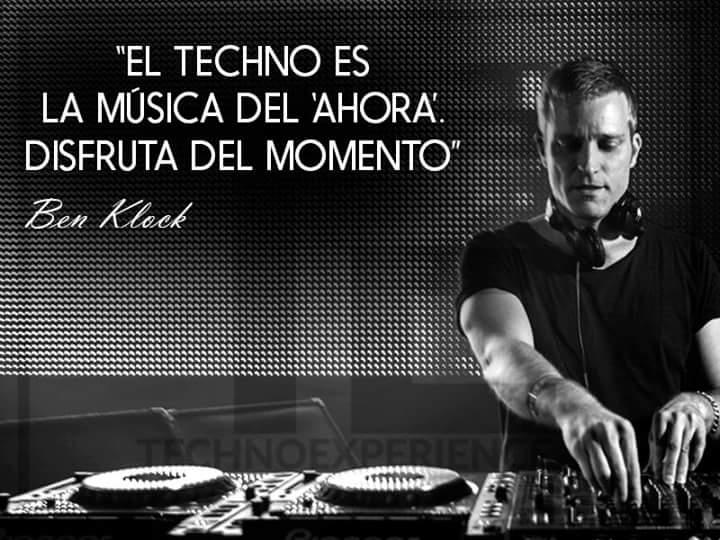 """""""El techno es la música del ahora. Disfruta del momento"""