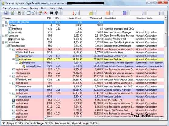 Manually delete trojan using process explorer