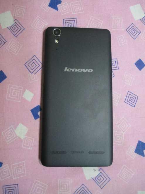 Lenovo A6000 back view