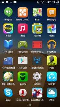 Lenovo A6000 Plus apps