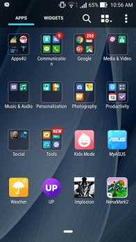 ASUS Zenfone 2 Deluxe Pre-installed apps list_1