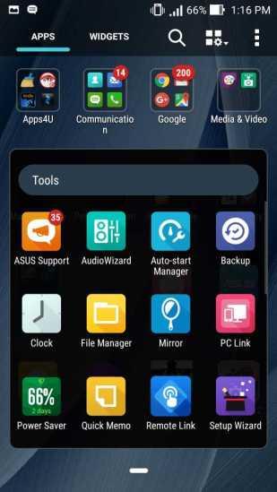 ASUS Zenfone 2 Deluxe Pre-installed apps list_5
