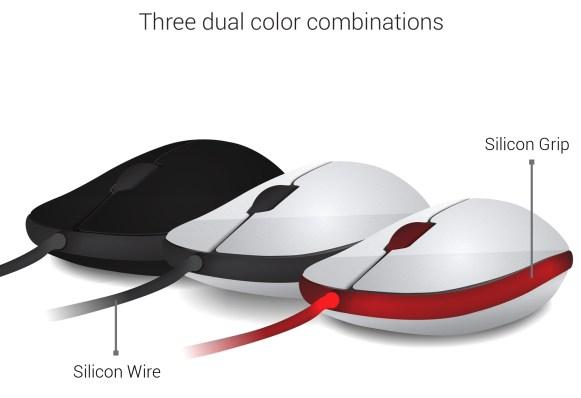 Hanger mouse dual color combination