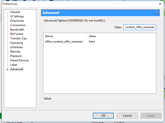 How to hide Ads in torrent client