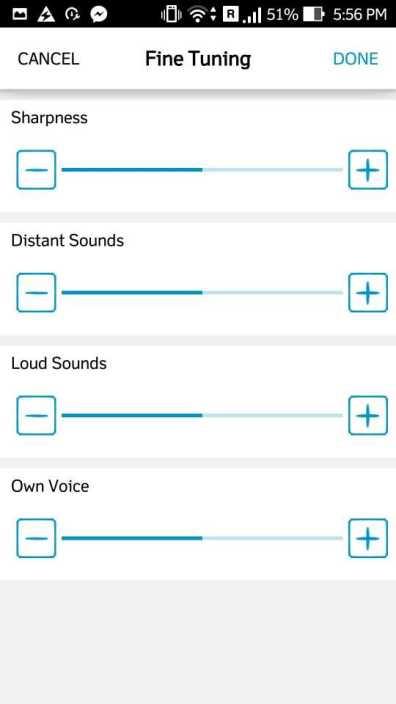 Quadio Q+ advanced audio level customizer