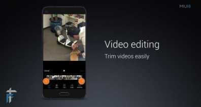 Video Editing - TRIM
