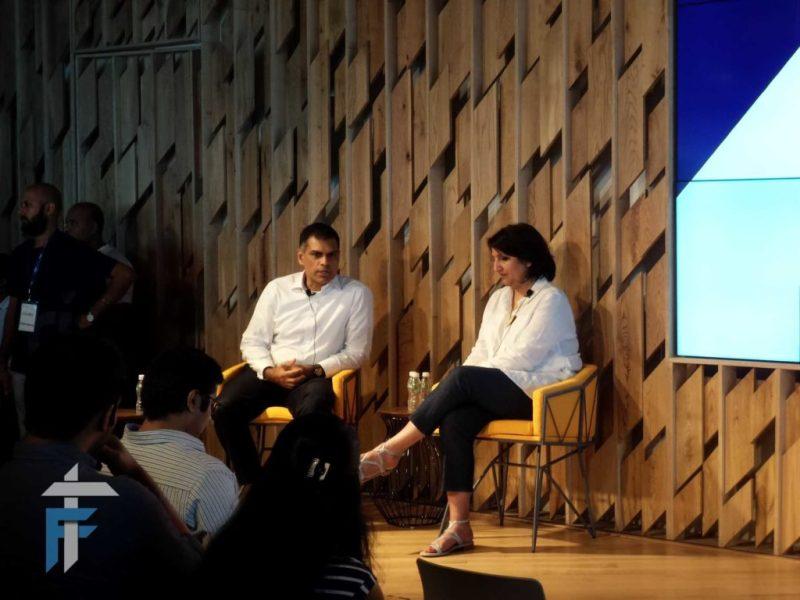 (L-R) Jaideep khanna, Director, Barclays India with Lubaina Manji, Head of Rise and Group Innovation