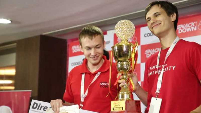 Global Winners-Borys Minaiev and Gennady Korotkevich