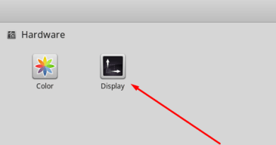 How to change resolution of unknown display in Linux