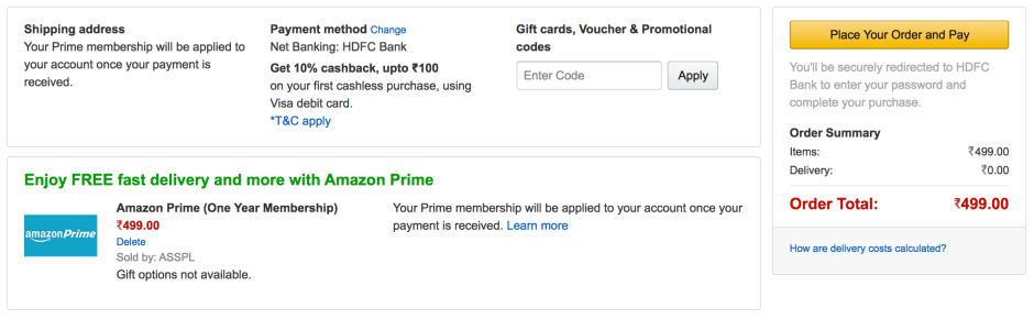 How to get Amazon Prime Membership for Free