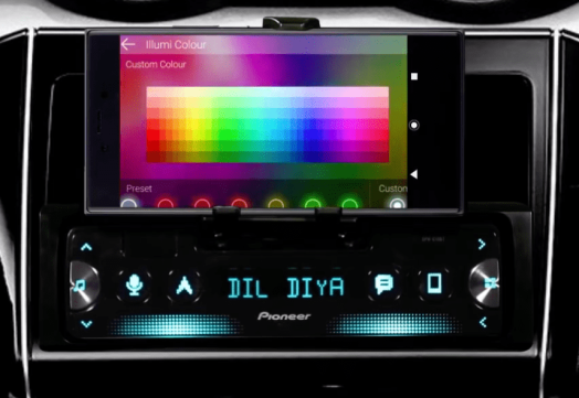 LED color options