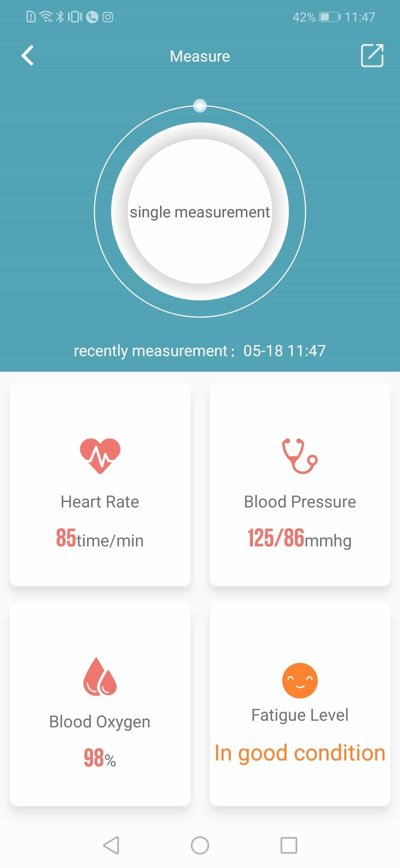 aqfit m2 smart fitness band