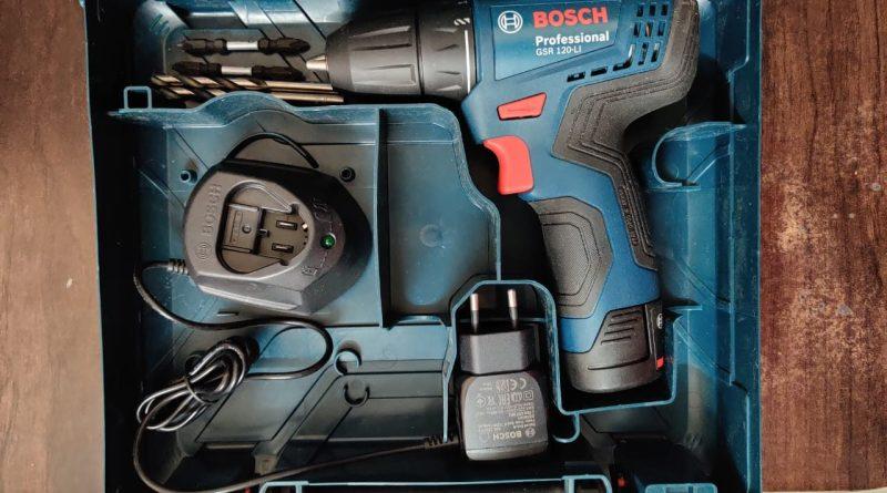 BOSCH GSR-120Li Professional Cordless drill review