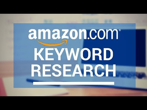 keyword research amazon