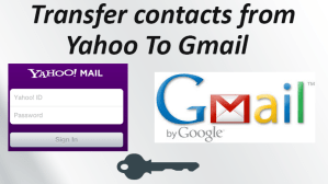 How to Import Contacts from Yahoo to Gmail?