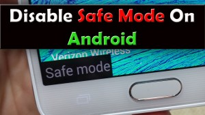 How to exit safe mode in android phone? step by step guide