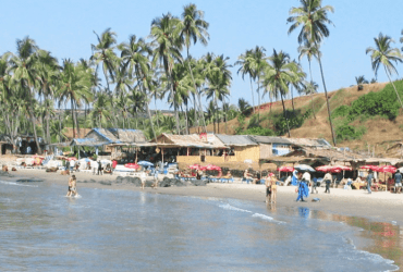 vagator beach technofins best places to visit in goa