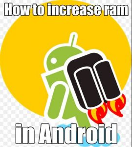 how to increase ram in android mobile using SD Card