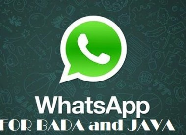 How to Download Whatsapp for Java Phones and Bada Phones