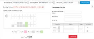 apsrtc ticket booking online