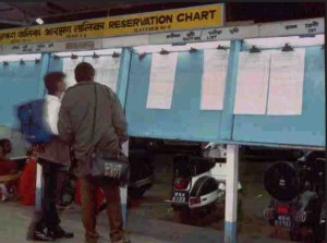 train chart preperation timing