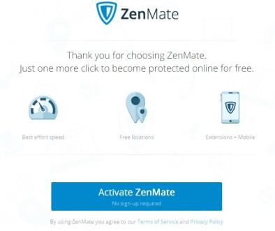 zenmate for chrome