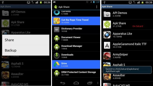android app to apk