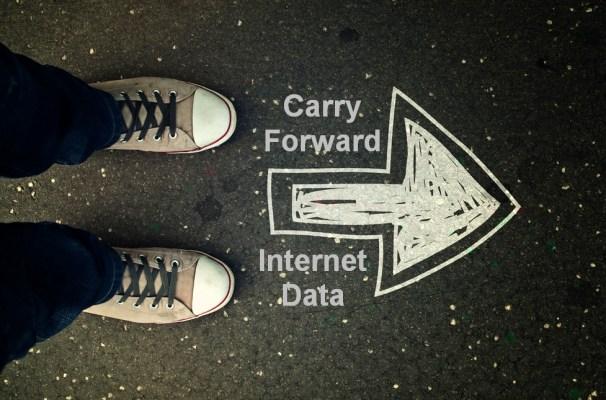 carry forward internet data balance