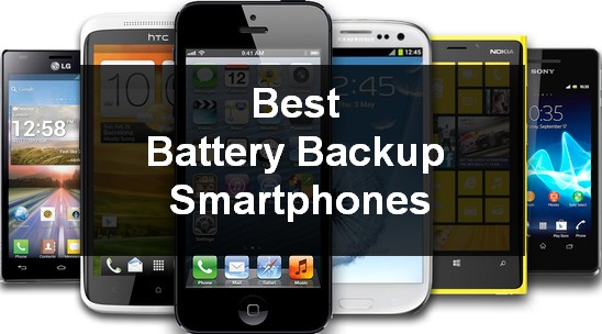 best battery backup android smartphone