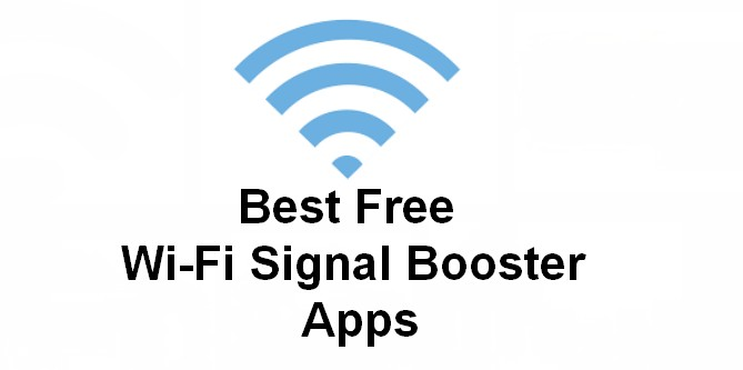 best free wi-fi signal booster apps