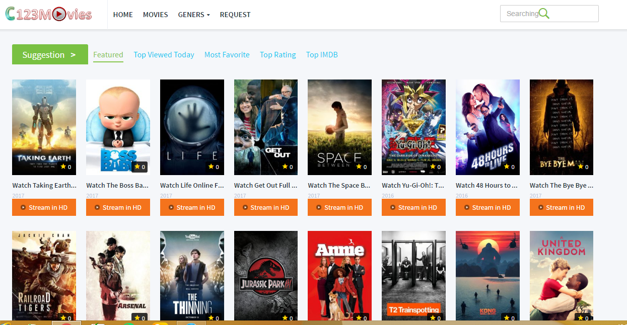 top free movie sites 2016