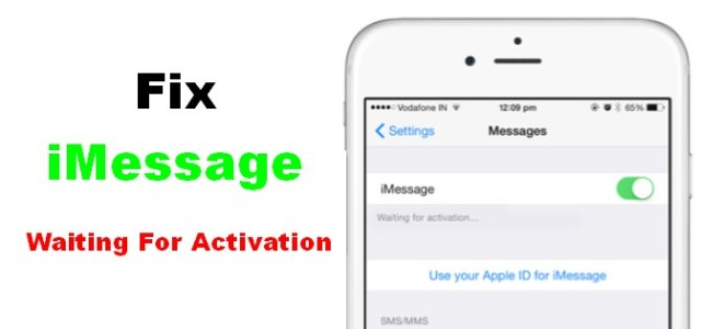 fix imessage waiting for activation