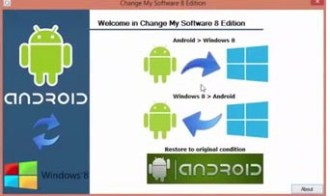 how to install windows on android tablet