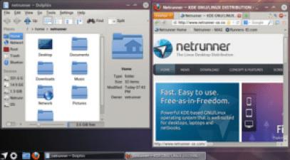 Netrunner Linux