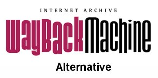 Internet Archive Wayback Machine Alternative