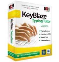 Key Blaze typing software